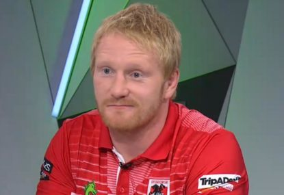 James Graham's strange response to the NRL's first female referee
