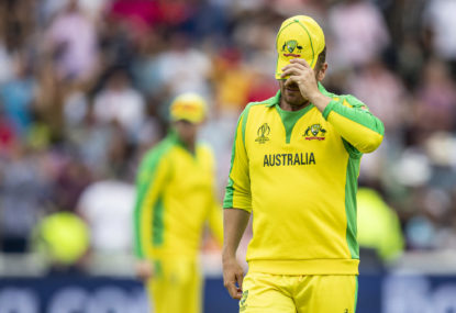 Australia's messy and unsettled composition leaves them dazed