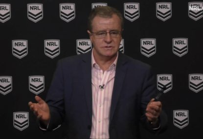 Annesley fires back at 'over the top' criticism of refs, hints at rule changes