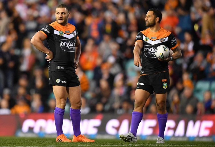 Old pals Benji Marshall and Robbie Farah