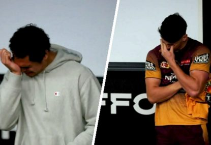 Emotional scenes as Broncos debutants receive their jerseys
