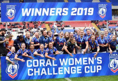 Leeds Rhinos women win the Challenge Cup final