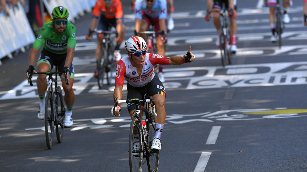 Caleb Ewan claims second Tour de France stage win