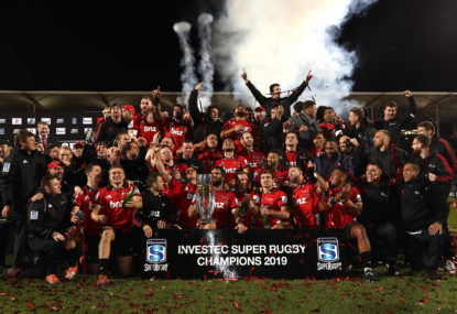 Each Super Rugby team's claim to the title