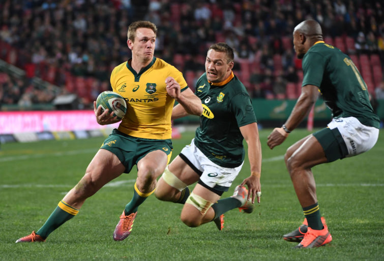 Wallabies winger Dane Haylett-Petty.