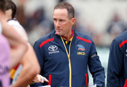 Don Pyke quits Adelaide Crows