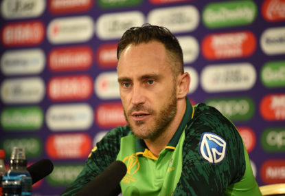 Under-siege Faf will welcome Aussie challenge
