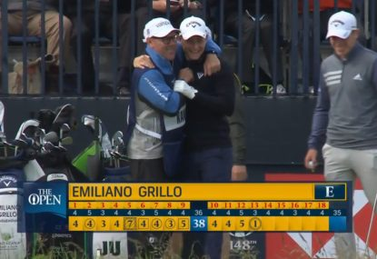 Argentine nails the first hole-in-one at The Open in three years