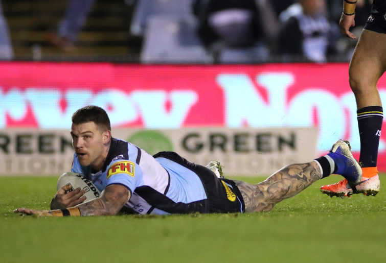 Josh Dugan of the Sharks.