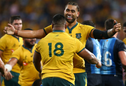 This Wallabies mob are more than worthy of your support - and it's not just because of their win in Perth