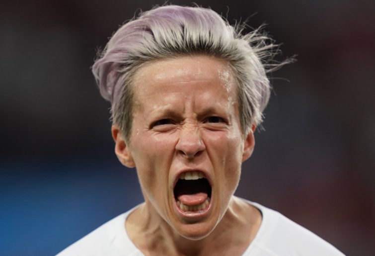 United States co-captain Megan Rapinoe.