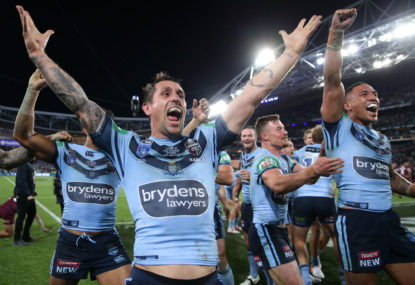 One pass has made all the difference to Mitchell Pearce's Origin legacy