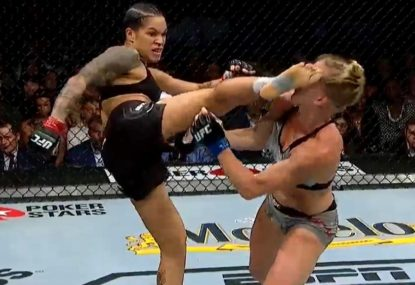 Amanda Nunes wrecks Holly Holm with brutal first-round head kick KO