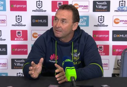 Ricky Stuart furious over Cotric send-off
