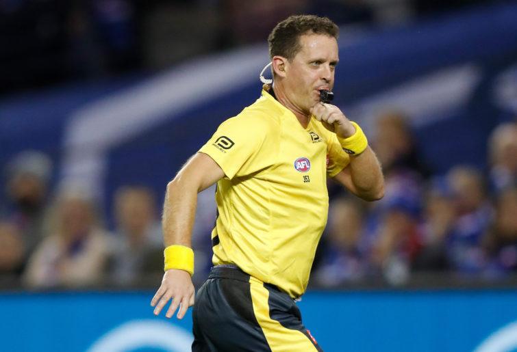 AFL umpire Shane McInerney