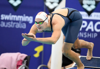 Aussie swimmer fails doping test: report