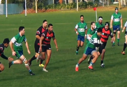 Every try from NZ premier rugby team's incredible 133-POINT victory