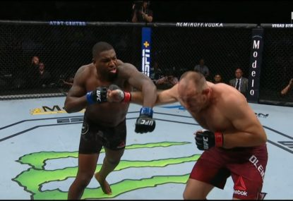 'Hope that man's ok': Third-fastest KO in UFC heavyweight history rocks fighter