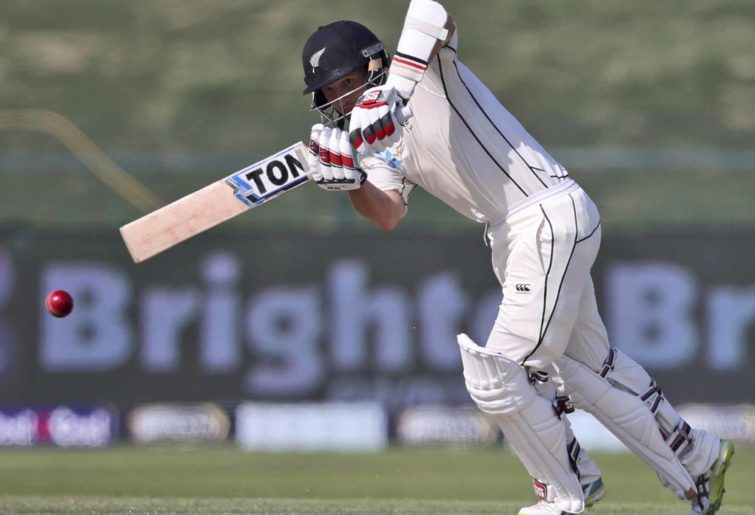 New Zealand's batsman Bradley-John Watling