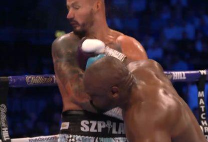 British boxer's devastating second-round KO