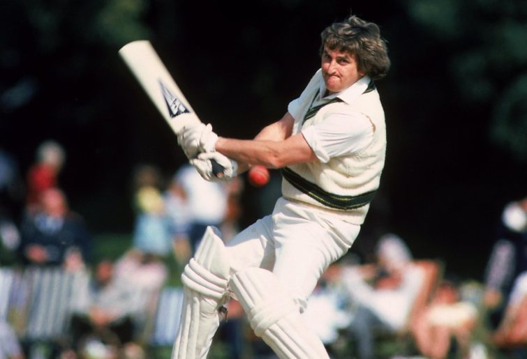 Gary Gilmour bats for Australia