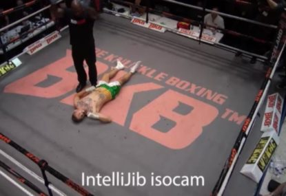 Brutal right hand bomb a serious knockout of the year contender