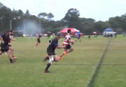 Memorable long-range try showcases every trick in the book