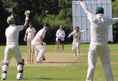Stunning levels of sportsmanship as cricket captain withdraws appeal after wicket