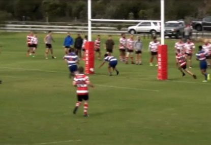 TRY OR NO TRY? Stunning counterattack creates chaos on the try line