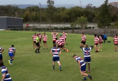 Tap on own try line ends in absolute disaster