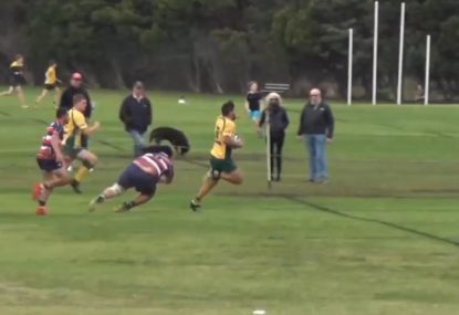 Number 8's explosive bust from the kick-off sets up runaway try