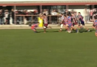 Big Boppa crushes defenders like they're Under 10s in runaway try