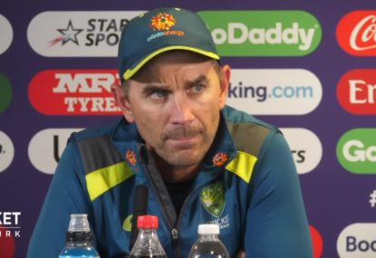 Justin Langer remains cryptic about Matt Wade coming into the team