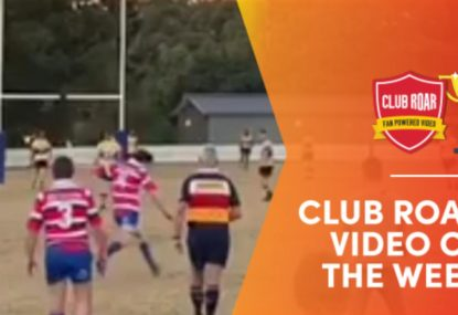 CLUB ROAR VIDEO OF THE WEEK: John Eales 2.0 kicks 40m match winner on the siren
