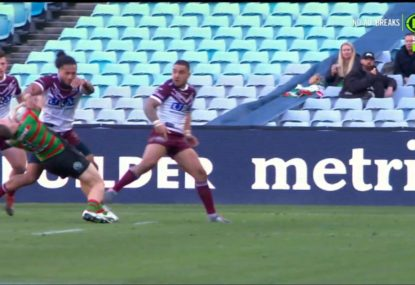 Jorge Taufua unleashes one of the biggest hits of 2019 on young Rabbitoh
