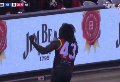 AMT kicks one of the great winning goals to save Essendon's season