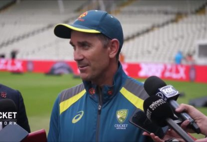 Justin Langer laments Stoinis and Maxwell's World Cup struggles