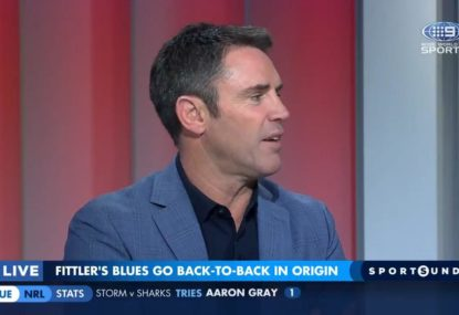 'It got a bit nasty': Brad Fittler says Origin coverage got too personal