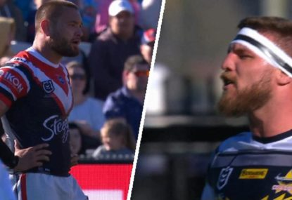 JWH reported for 'leading with the head' on Josh McGuire