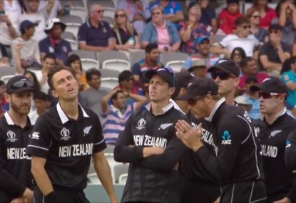 New Zealand despair as Roy somehow survives seemingly plumb LBW first ball