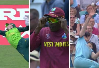 Best catches of the 2019 Cricket World Cup
