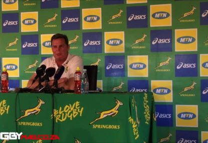 Springboks coach: Wallabies 'less of a threat' without Folau