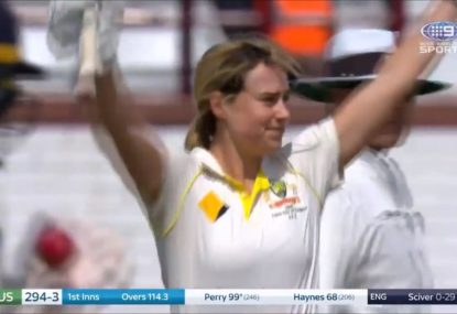 Ellyse Perry brings up another superb century