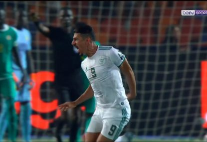 The freak second-minute deflection that saw Algeria win the African Cup of Nations