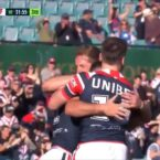 The Roosters might have just pulled off the team try of the year