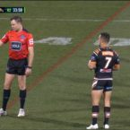 Raider reported for late 'love tap' on Tigers lock