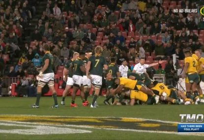 'That's the wrong decision': Cheika fumes over Tongan Thor's contentious yellow card