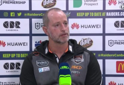 'We need to harden up': Michael Maguire gives 'poor' Tigers a serve