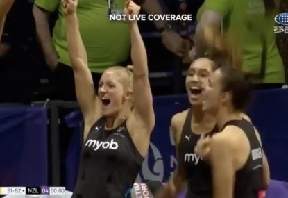 The moment NZ Silver Ferns won their first Netball World Cup since 2003