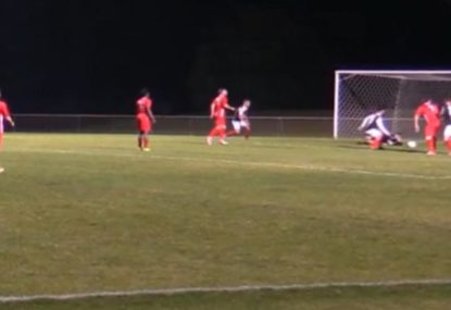 Goalie's epic fight against all-out attack ends in a heartbreaker